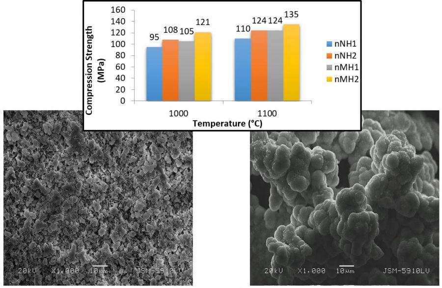 Merve TURAN, Nermin DEMIRKOL; Comparison of mechanical and bioactivity properties of nano hydroxyapatite-magnesium oxide and nano hydroxyapatite-niobium (V) oxide biocomposites; Advanced Nano-Bio-Materials and Devices; 2019:3(4):521-527